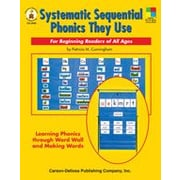Carson-Dellosa Publishing Systematic Sequential Phonics They Use Workbook, Kindergarten - Grade 5 [eBook]
