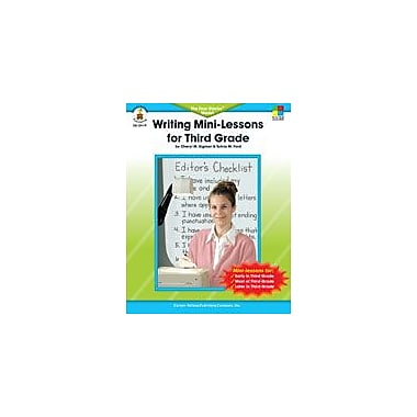 Carson-Dellosa Publishing Writing Mini-Lessons, Grade 3 Workbook By Ford, Sylvia M., Grade 3 [eBook]