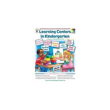 Carson-Dellosa Publishing Learning Centers Kindergarten Workbook By Loman, Karen, Kindergarten [eBook]