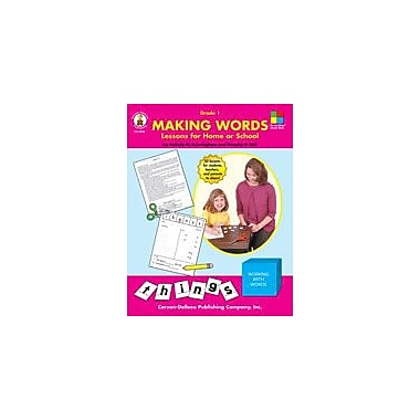 Carson-Dellosa Publishing Making Words, Grade 1 Workbook By Hall, Dorothy, Grade 1 [eBook]