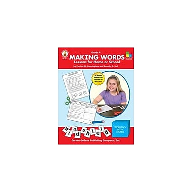 Carson-Dellosa Publishing Making Words, Grade 4 Workbook By Hall, Dorothy, Grade 4 [eBook]