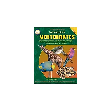 Carson-Dellosa Publishing Learning About Vertebrates By Mark Twain Media Workbook By Routh, Grade 4 - Grade 8 [eBook]