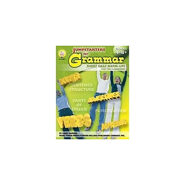 Carson-Dellosa Publishing Jumpstarters For Grammar By Mark Twain Media Workbook By Barden, Bierling, Grade 4 - Grade 12 [eBook]