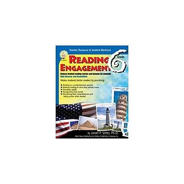 Carson-Dellosa Publishing Reading Engagement: Grade 6 By Mark Twain Media Workbook By Sitter, Janet, Grade 6 [eBook]