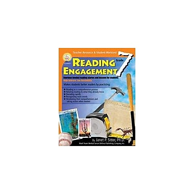 Carson-Dellosa Publishing Reading Engagement: Grade 7 By Mark Twain Media Workbook By Sitter, Janet, Grade 7 [eBook]