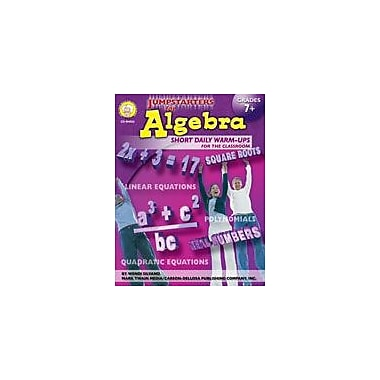 Carson-Dellosa Publishing Jumpstarters For Algebra By Mark Twain Media Workbook By Silvano, Grade 7 - Grade 12 [eBook]