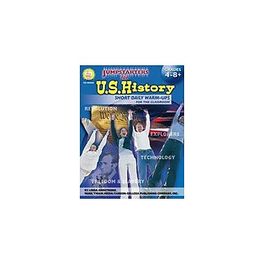 Carson-Dellosa Publishing Jumpstarters For U.S. History By Mark Twain Media Workbook, Grade 4 - Grade 12 [eBook]
