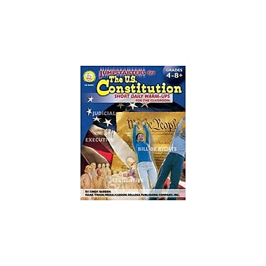 Carson-Dellosa Publishing Jumpstarters U.S. Constitution By Mark Twain Media Workbook, Grade 4 - Grade 12 [eBook]