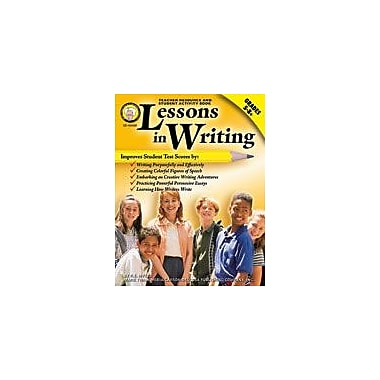 Carson-Dellosa Publishing Lessons In Writing By Mark Twain Media Workbook By Myers, Grade 5 - Grade 9 [eBook]