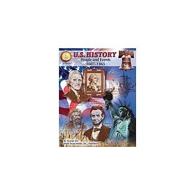 Carson-Dellosa Publishing U.S. History: People And Events 1607-1865 By Mark Twain Media Workbook, Grade 6 - Grade 12 [eBook]