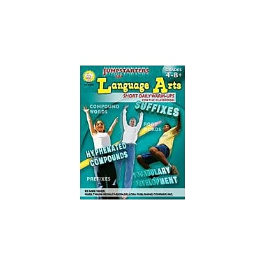 Carson-Dellosa Publishing Jumpstarters For Language Arts By Mark Twain Media Workbook By Fisher, Ann, Grade 4 - Grade 9 [eBook]