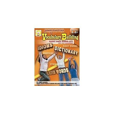 Carson-Dellosa Publishing Jumpstarters For Vocabulary Building By Mark Twain Media Workbook, Grade 4 - Grade 9 [eBook]