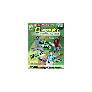 Carson-Dellosa Publishing Jumpstarters For Geography By Mark Twain Media Workbook By Barden, Cindy, Grade 4 - Grade 9 [eBook]