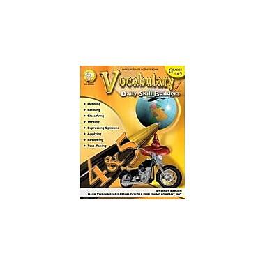 Carson-Dellosa Publishing Daily Skill Builders: Vocabulary: Grades 4-5 By Mark Twain Media Workbook, Grade 4 - Grade 5 [eBook]