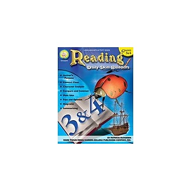 Carson-Dellosa Publishing Daily Skill Builders: Reading: Grades 3-4 By Mark Twain Media Workbook, Grade 3 - Grade 4 [eBook]