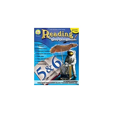 Carson-Dellosa Publishing Daily Skill Builders: Reading: Grades 5-6 By Mark Twain Media Workbook, Grade 5 - Grade 6 [eBook]