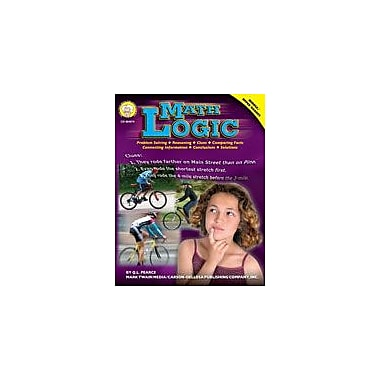 Carson-Dellosa Publishing Math Logic By Mark Twain Media Workbook By Pearce, Q. L., Grade 5 - Grade 9 [eBook]