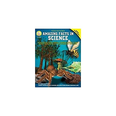 Carson-Dellosa Publishing Amazing Facts In Science By Mark Twain Media Workbook By Blattmer, Don, Grade 5 - Grade 9 [eBook]