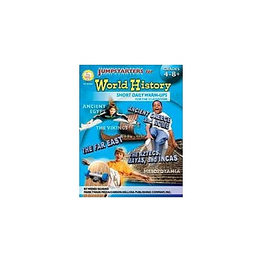 Carson-Dellosa Publishing Jumpstarters For World History By Mark Twain Media Workbook, Grade 4 - Grade 12 [eBook]