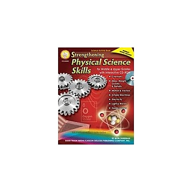 Carson-Dellosa Publishing Strengthening Physical Science Skills For Middle And Upper Grades By Mark Twain Media Workbook [eBook]