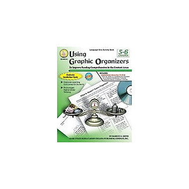 Carson-Dellosa Publishing Using Graphic Organizers, Grades 5 - 6 Workbook By K. Smith, Marilyn, Grade 5 - Grade 6 [eBook]