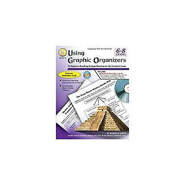 Carson-Dellosa Publishing Using Graphic Organizers, Grades 6 - 8 Workbook By K. Smith, Marilyn, Grade 6 - Grade 8 [eBook]