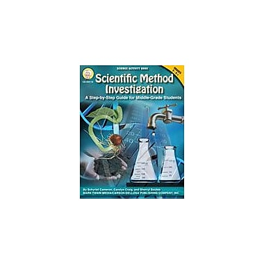 Carson-Dellosa Publishing Scientific Method Investigation By Mark Twain Media Workbook, Grade 5 - Grade 12 [eBook]