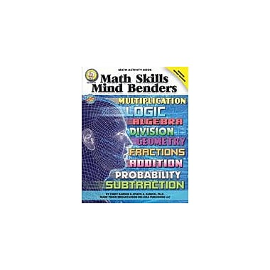Carson-Dellosa Publishing Math Skills Mind Benders By Mark Twain Media Workbook By Barden, Kunicki, Grade 5 - Grade 9 [eBook]