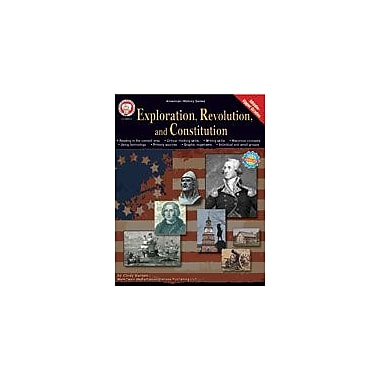 Carson-Dellosa Publishing Exploration, Revolution, And Constitution By Mark Twain Media Workbook, Grade 5 - Grade 12 [eBook]