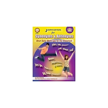 Carson-Dellosa Publishing Jumpstarters For Synonyms And Antonyms By Mark Twain Media Workbook, Grade 4 - Grade 8 [eBook]