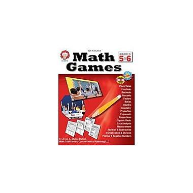 Carson-Dellosa Publishing Math Games: Grades 5-6 By Mark Twain Media Workbook, Grade 5 - Grade 6 [eBook]