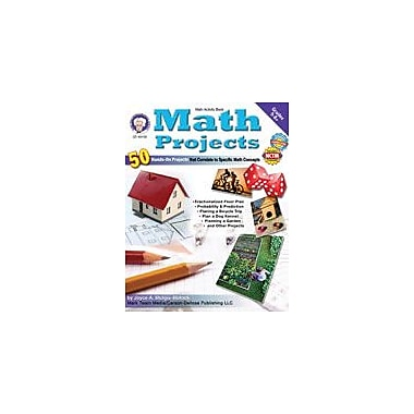 Carson-Dellosa Publishing Math Projects By Mark Twain Media Workbook By Stulgis-Blalock, Joyce, Grade 5 - Grade 12 [eBook]