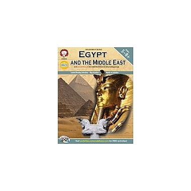 Carson-Dellosa Publishing Egypt And The Middle East By Mark Twain Media Workbook By Hotle, Patrick, Grade 5 - Grade 12 [eBook]