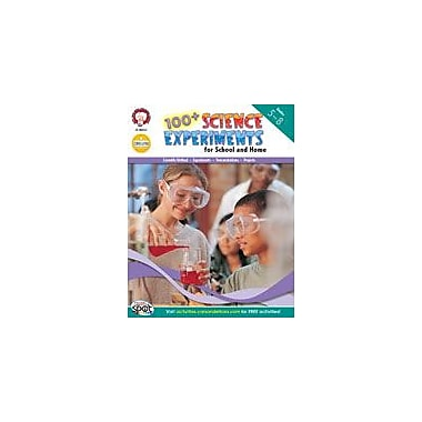 Carson-Dellosa Publishing 100+ Science Experiments For School And Home By Mark Twain Media Workbook, Grade 5 - Grade 8 [eBook]