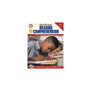 Carson-Dellosa Publishing Nonfiction Reading Comprehension: Grades 5-6 By Mark Twain Media Workbook, Grade 5 - Grade 6 [eBook]