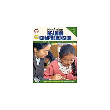 Carson-Dellosa Publishing Nonfiction Reading Comprehension: Grades 7-8 By Mark Twain Media Workbook, Grade 7 - Grade 8 [eBook]