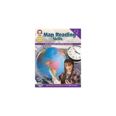 Carson-Dellosa Publishing Map Reading Skills By Mark Twain Media Workbook By Shireman, Myri, Grade 5 - Grade 8 [eBook]