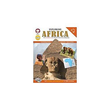 Carson-Dellosa Publishing Exploring Africa By Mark Twain Media Workbook By Kramme, Michael, Grade 5 - Grade 8 [eBook]