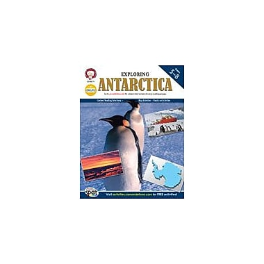Carson-Dellosa Publishing Exploring Antarctica By Mark Twain Media Workbook By Kramme, Michael, Grade 5 - Grade 8 [eBook]