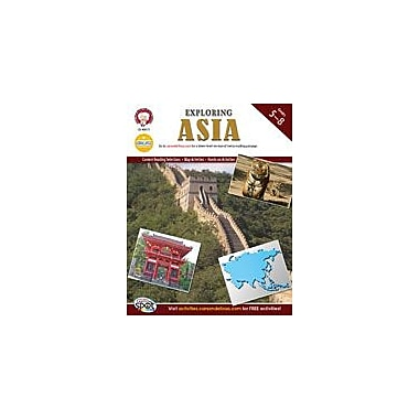 Carson-Dellosa Publishing Exploring Asia By Mark Twain Media Workbook By Kramme, Michael, Grade 5 - Grade 8 [eBook]