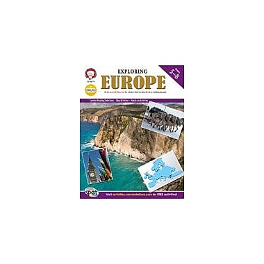 Carson-Dellosa Publishing Exploring Europe By Mark Twain Media Workbook By Kramme, Michael, Grade 5 - Grade 8 [eBook]