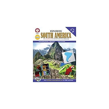 Carson-Dellosa Publishing Exploring South America By Mark Twain Media Workbook By Kramme, Michael, Grade 5 - Grade 8 [eBook]