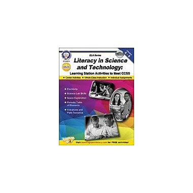 Carson-Dellosa Publishing Literacy In Science And Technology Workbook By Cameron, Schyrlet, Grade 6 - Grade 8 [eBook]