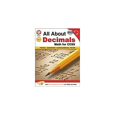 Carson-Dellosa Publishing All About Decimals Workbook By Cameron, Schyrlet, Grade 6 - Grade 8 [eBook]
