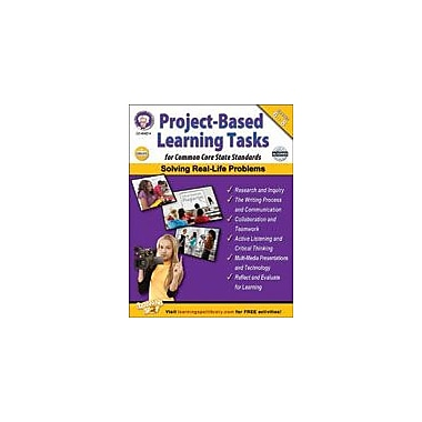 Carson-Dellosa Publishing Project-Based Learning Tasks For Common Core State Standards Workbook, Grade 6 - Grade 8 [eBook]