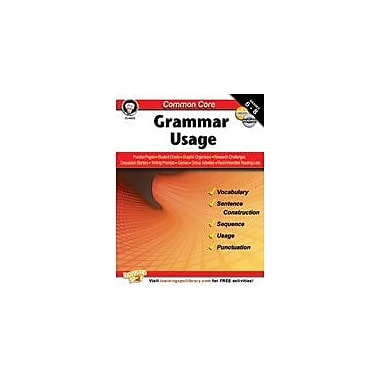 Carson-Dellosa Publishing Common Core: Grammar Usage Workbook By Armstrong, Linda, Grade 6 - Grade 8 [eBook]