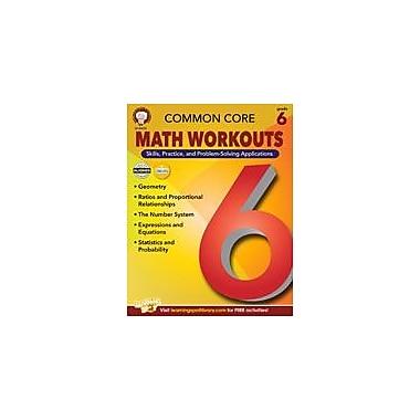 Carson-Dellosa Publishing Common Core: Math Workouts (Gr. 6) Workbook By Mace, Karice, Grade 6 [eBook]