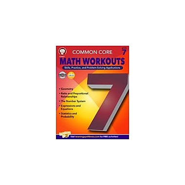 Carson-Dellosa Publishing Common Core: Math Workouts (Gr. 7) Workbook By Mace, Karice, Grade 7 [eBook]