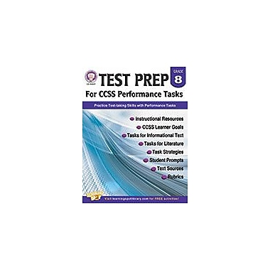 Carson-Dellosa Publishing Test Prep For Ccss Performance Tasks, Grade 8 Workbook [eBook]