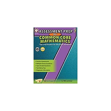 Carson-Dellosa Publishing Assessment Prep For Common Core Mathematics, Grade 7 Workbook [eBook]